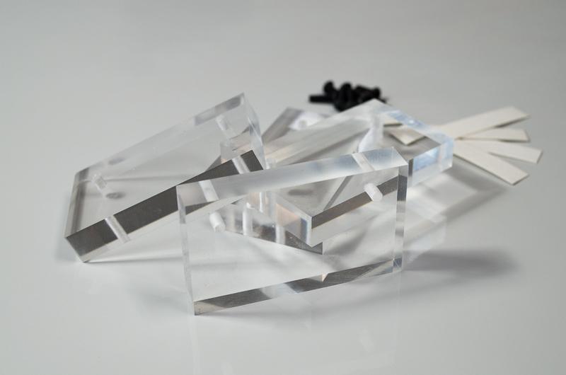 martmamod acrylglas halterungen f r frontplates. Black Bedroom Furniture Sets. Home Design Ideas