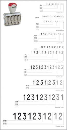 Ziffernbänderstempel 3